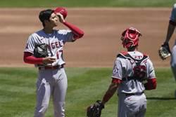 MLB》大谷翔平登板慘敗!首局失5分退場生涯最糟