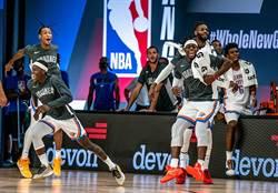NBA》隻手遮天!羅伯生三分神射助雷霆逆轉