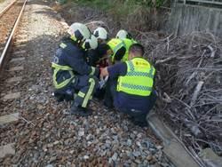 台鐵遭撞死男路人 身分待釐清