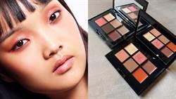 秋葉楓紅點綴魅力雙眸!限量6色眼盤打造精緻溫柔的初秋眼妝