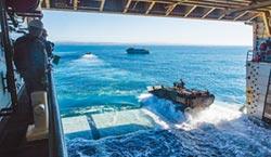 遏中 美在3地組陸戰隊瀕海團