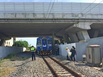 台鐵傳撞死人事故!路人遭「清水=沙鹿」區間車撞斃 屍臥鐵道旁
