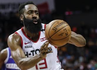 NBA》就不想輸!哈登末節領火箭轟40分