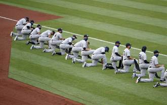MLB》不滿球員唱國歌時屈膝 川普不開球了