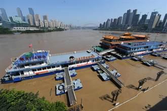 長江今年最大洪峰通過重慶湧入三峽 水庫入庫流量暴增