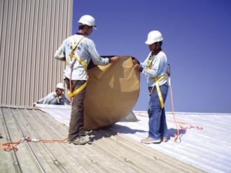 固黏氈 解決鋼板屋頂四大問題