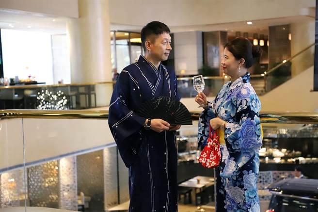 晶華東京美食之旅,旅客可以體驗節慶浴衣的穿搭文化。(晶華提供)