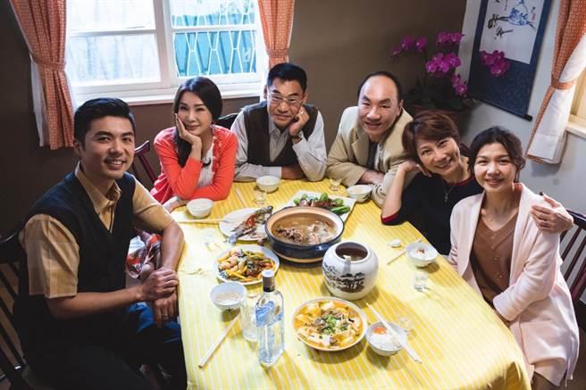 叶天伦感谢《三春记》精湛演员的表现。(民视提供)