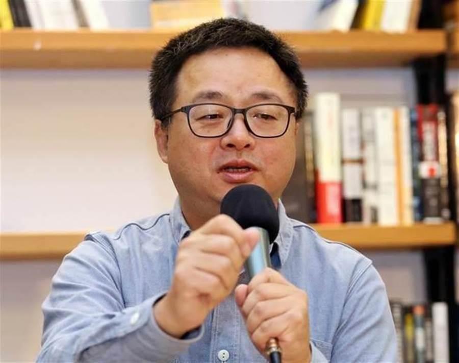 前民進黨祕書長羅文嘉嘆綠「遲早會出事」。(資料照)