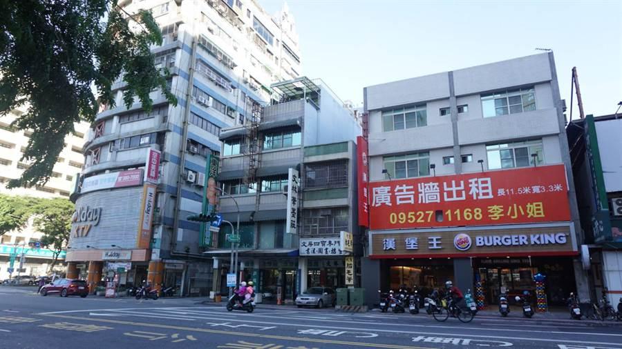 根據最新統計,高雄三民區店面交易佔比最多。(台灣房屋提供)