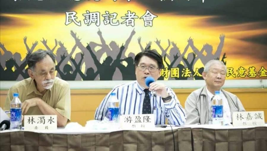 台灣民意基金會資料照片