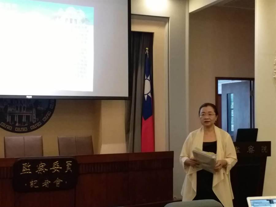 監委舉行核四公投記者會(張理國攝)
