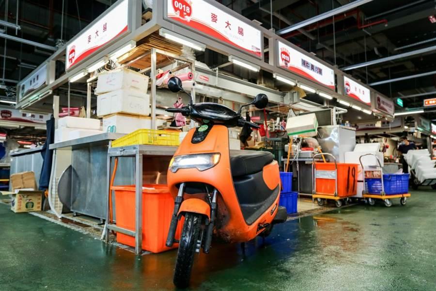 台北環南中繼市場轉型再出發 eMOVING iE PICKUP成為當地攤販首選車款