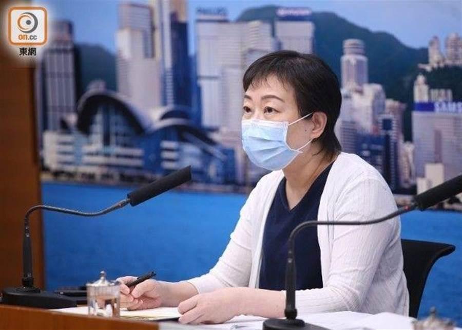 香港衛生署衞生防護中心傳染病處主任張竹君(東網)