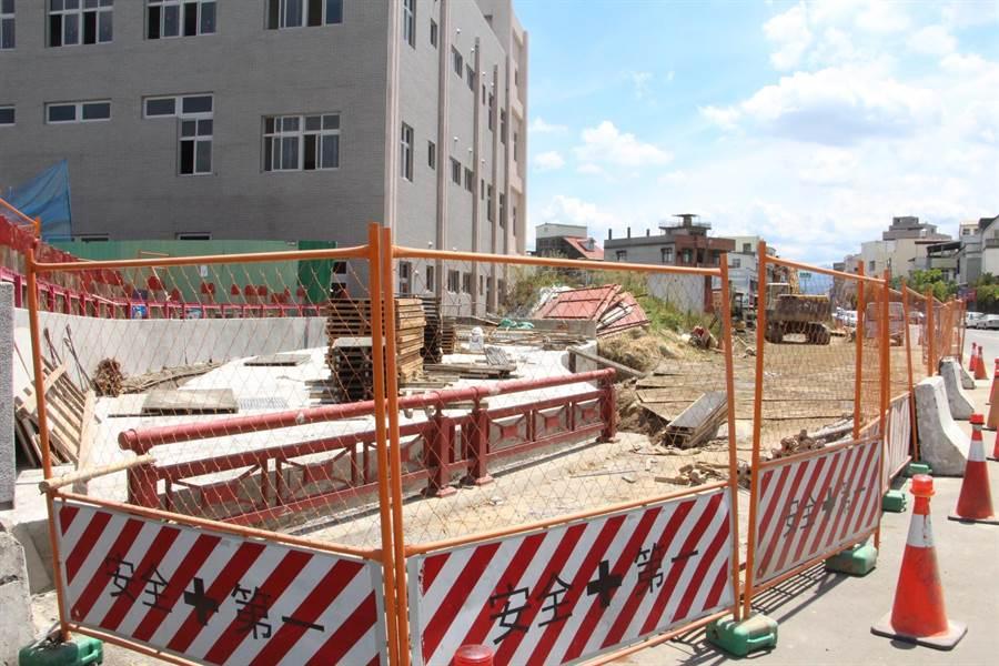 聖帝廟前砂溝碑支線改建工程今年6月底動工,將打造交通動線更便捷的大文山生活圈。(何冠嫻攝)