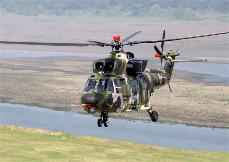 韓國自製直升機KUH-1完美雄鷹。(圖/KAI)