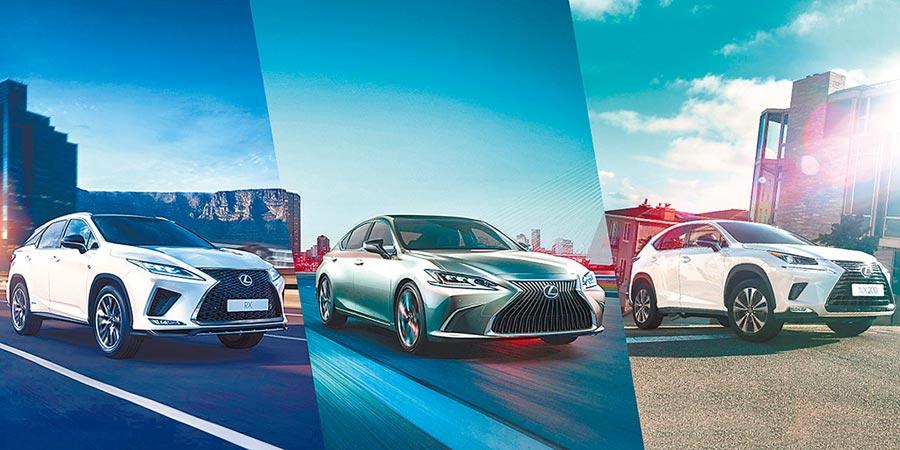 LEXUS去年與和運租車合推可3年換開3台新車的「LEXUS Select+訂閱式租賃服務」,今年擴大為「網路訂閱」服務,只要到官網挑選心儀的方案、車款、車色及配件,並支付訂金3000元,就有專人聯繫後續事宜。(和泰汽車提供)
