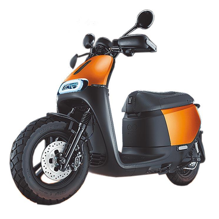 Gogoro 2 Rumbler ABS閃霧銅新色登場。(Gogoro提供)