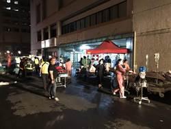 台北聯合醫院忠孝院區藥庫失火  消防隊滅火疏散病患