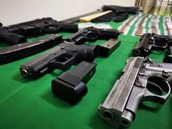 警方緝毒意外「撿到槍」 毒蟲擁5長短槍124子彈
