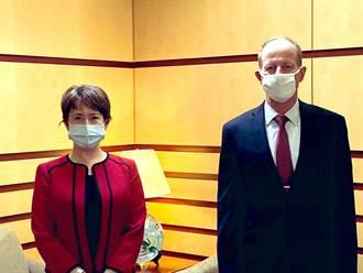 蕭美琴會晤美國務院亞太助卿 盼台美夥伴關係更加緊密