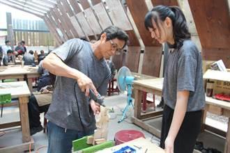 黃楊木雕技術源於三義 木雕藝術研習營傳承技藝