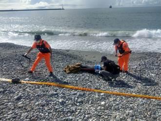 北濱岸邊1人溺斃 疑為採漁貨潛客