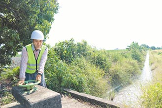基層盼挹注經費 修繕灌溉渠道