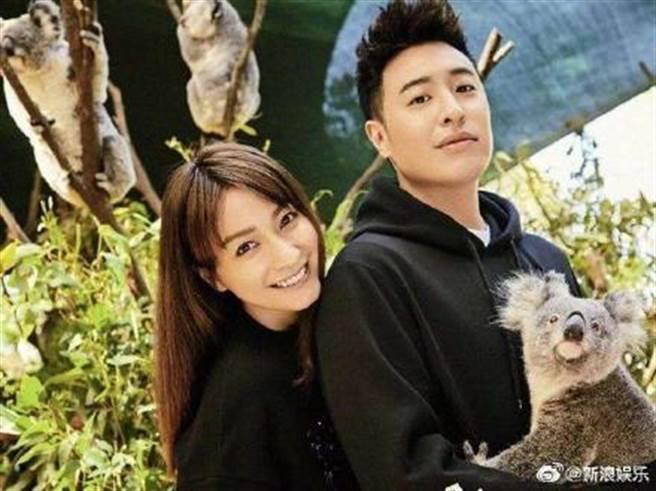 吳昕曾和潘瑋柏一起上戀愛真人秀組「無尾熊CP」。(圖/翻攝自微博)