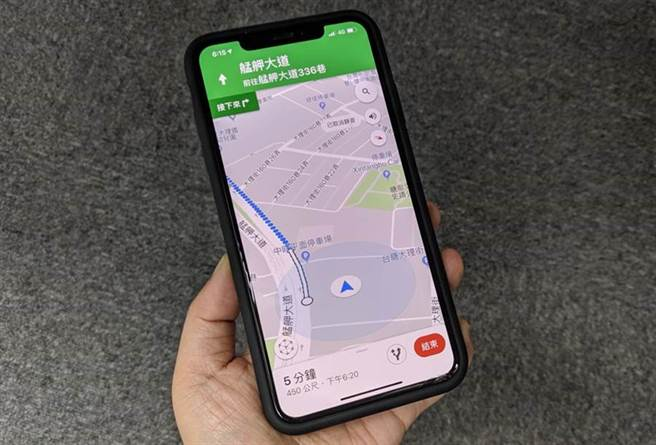Google地圖是不少人慣用的地圖服務,事實上當中可能還有很多功能你有所不知唷。(黃慧雯攝)