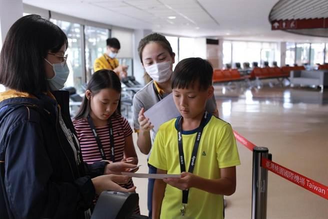 台灣虎航航空體驗營即日起開放報名。(台灣虎航提供/陳世宗台中傳真)