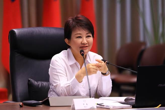 台中市長盧秀燕表示,客家是台中重要族群,其中東勢是客家族群最大聚落,客家美食令人食指大動,而且很好「客」。(盧金足攝)