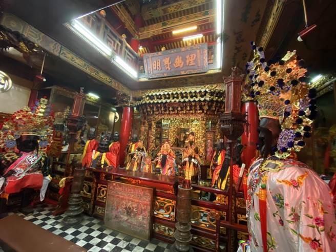 彰邑城隍廟睽違24年,今年將於城隍聖誕前舉辦出巡遶境,令地方津津樂道、十分期待。(謝瓊雲攝)