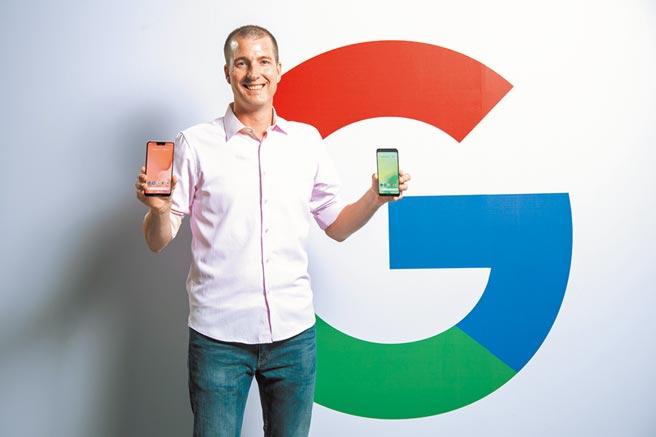 2018年,Google在台發表手機。(Google提供)