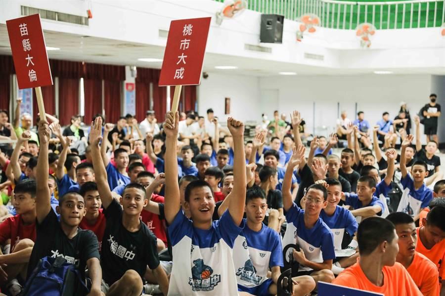 第1屆王輝盃籃球賽今天在嘉義市開打。(王輝盃大會提供)