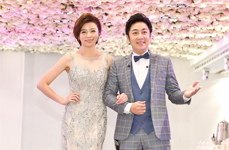 艾成、王瞳今宣布閃婚。(圖/中時資料照片)