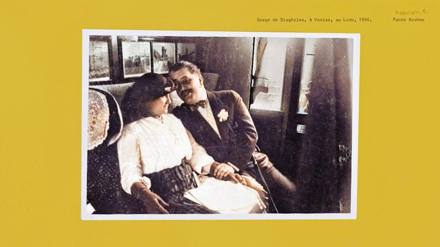 香奈兒女士與謝爾蓋達基列夫,他也是影響香奈兒女士最重要的一位朋友。(CHANEL提供)