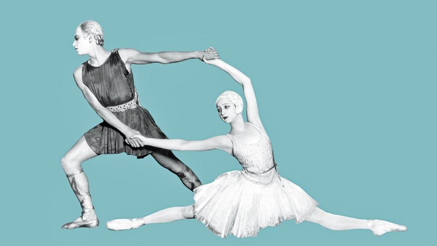 芭蕾肢體的美感融入在香奈兒高級時裝中。(CHANEL提供)