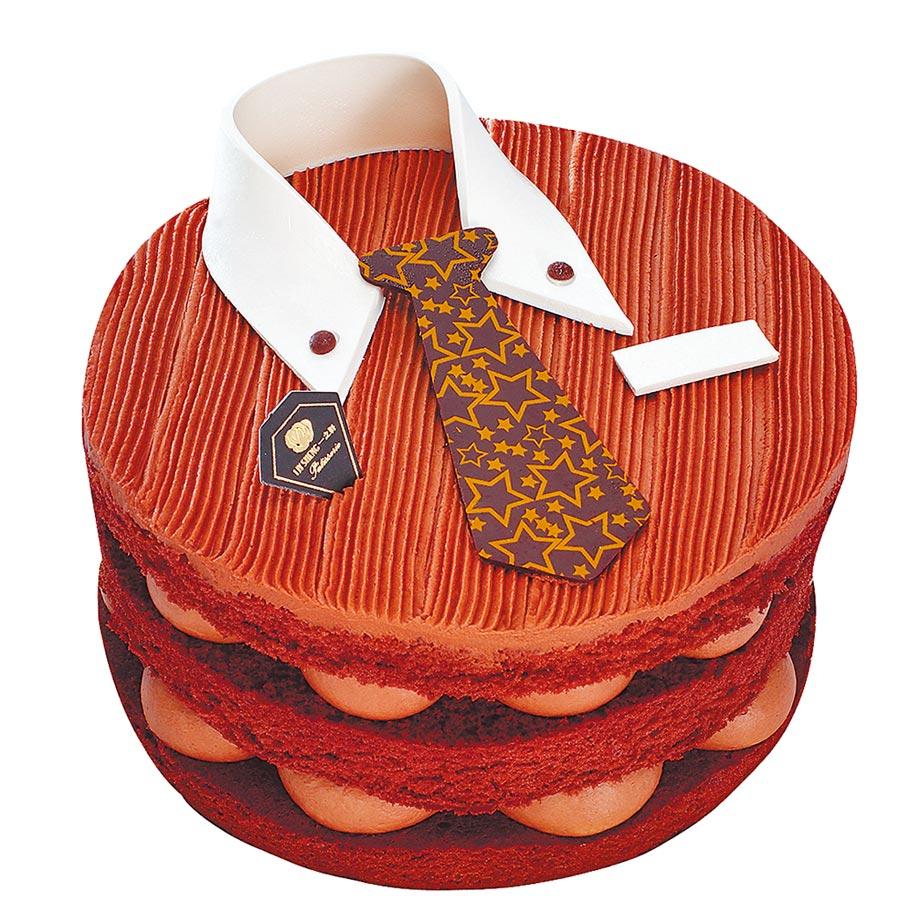 一之軒挑戰全植物性巧克力蛋糕,「魅力男神」優惠價6吋598元。(一之軒提供)