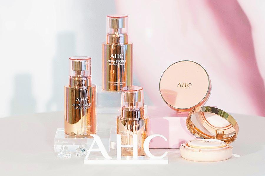 AHC新品帶來粉嫩櫻花色。(AHC提供)