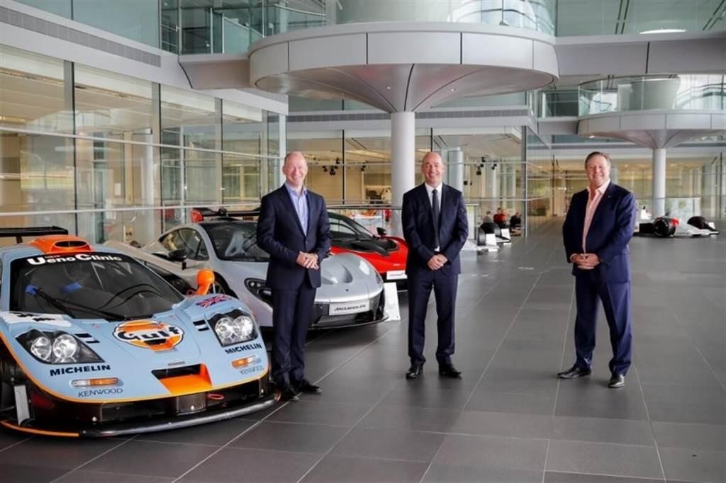McLaren與Gulf石油重啟新合作關係