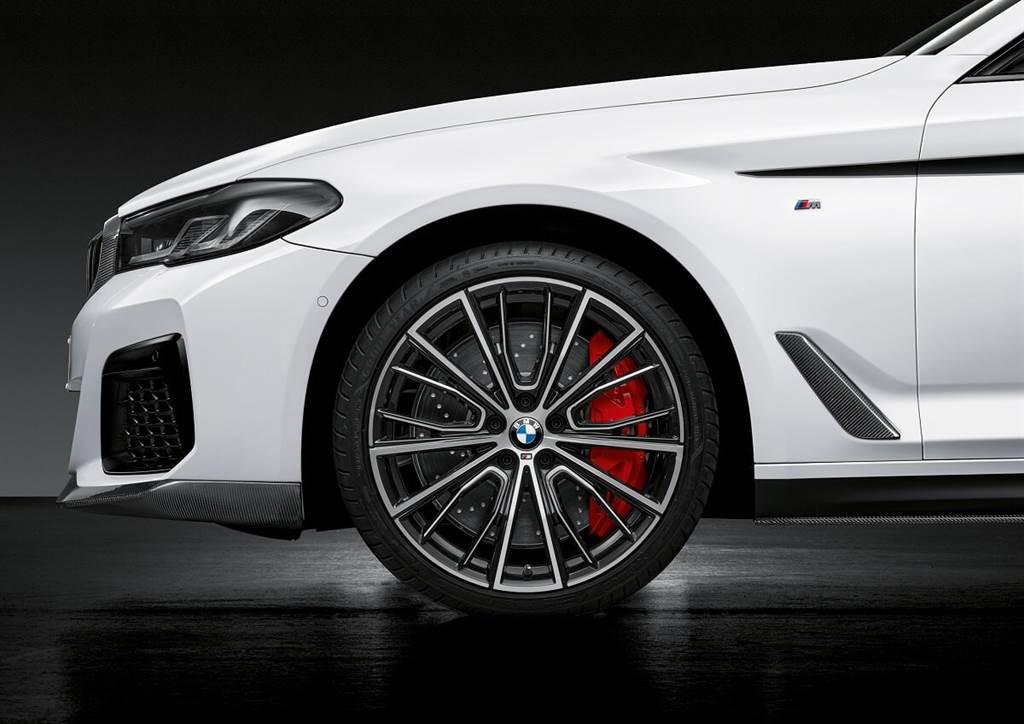 BMW新5系與新M5的M Performance各項升級套件 再公佈更多品項