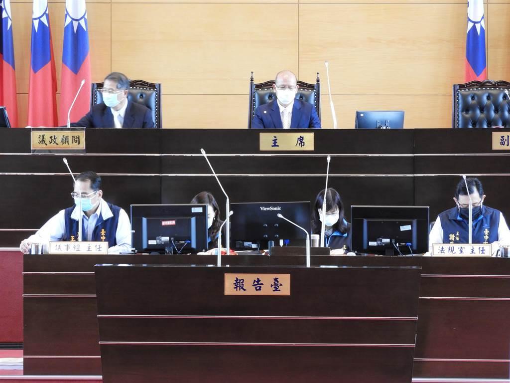 「府會風雲再起!」台中市議會預定在8月19日至28日召開第3屆第5次臨時會!(陳世宗攝)