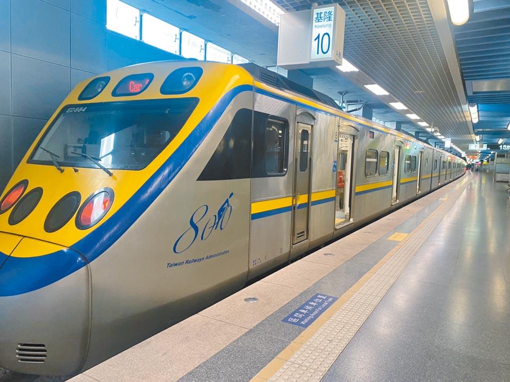 交通部規畫未來要讓台鐵退出基隆火車站,並以輕軌取代八堵至基隆站的鐵路。(吳康瑋攝)