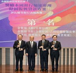 華南銀行紓困企業 獲金管會獎項肯定
