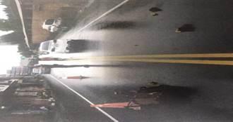 莽駕駛暴雨中「打保齡球」直直駛 偉大曾祖母「肉身護嬰」遭撞亡