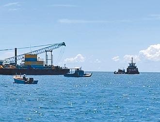雲林離岸風場爭議 漁民續阻施工