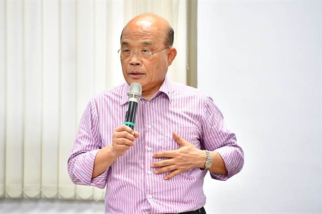 行政院長蘇貞昌。(資料照/行政院提供)