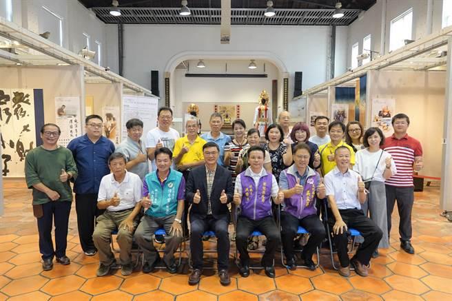 鹿港桂花巷駐村藝術家,7月29日至8月30日在鹿港公會堂,舉辦第15屆成果展。(吳敏菁攝)
