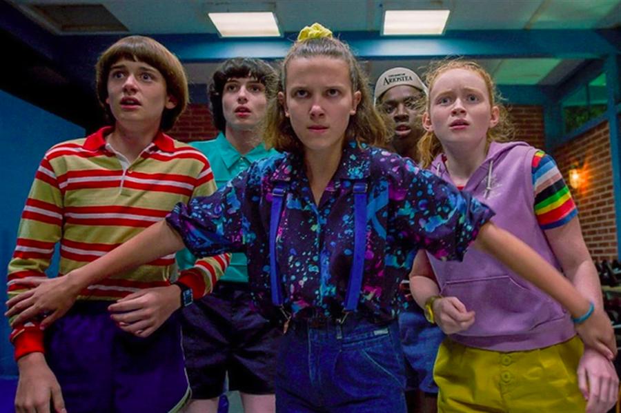 《怪奇物語》是Netflix的招牌劇。(Netflix提供)